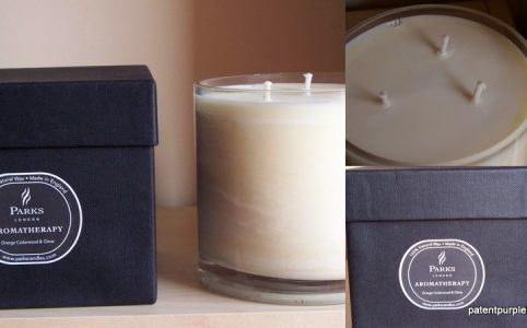 Parks Orange Cedarwood and Clove Aromatherapy Candle