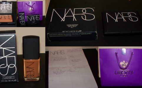 NARS make up lesson