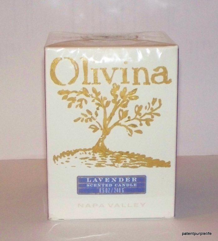 Olivina Lavender Scented Candle