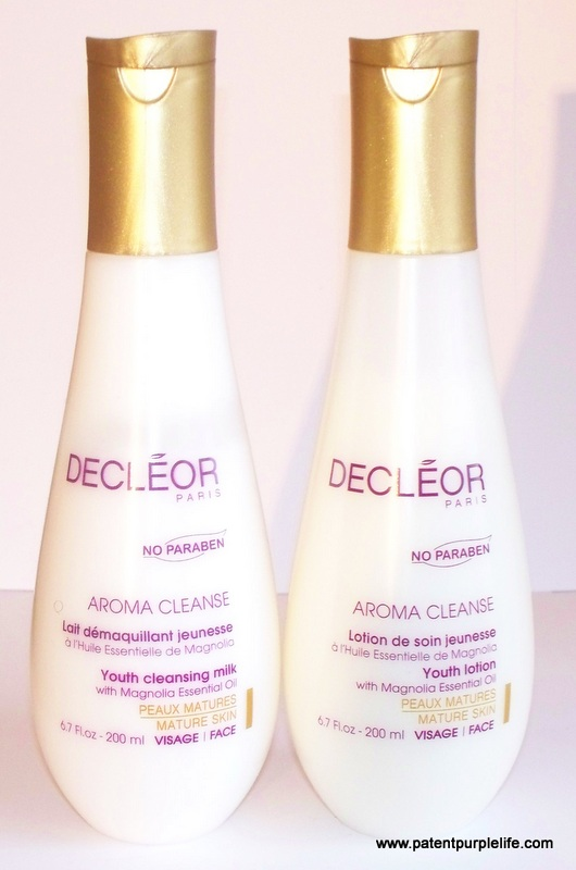 Decleor Youth Cleansing Milk and Youth Lotion