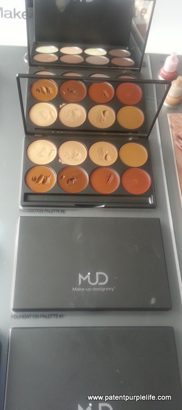 MUD foundation Palette