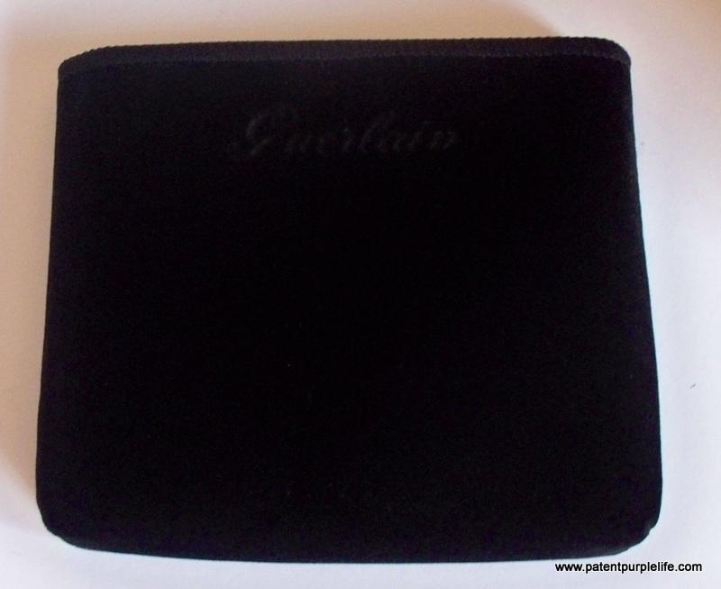 1-Guerlain blush velvet pouch