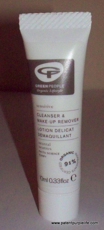 Green People Make Up Remover PatentPurpleLife