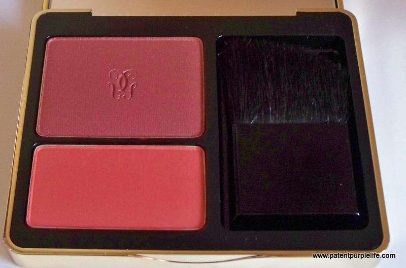 Guerlain Red Hot blush Duo PatentPurpleLife