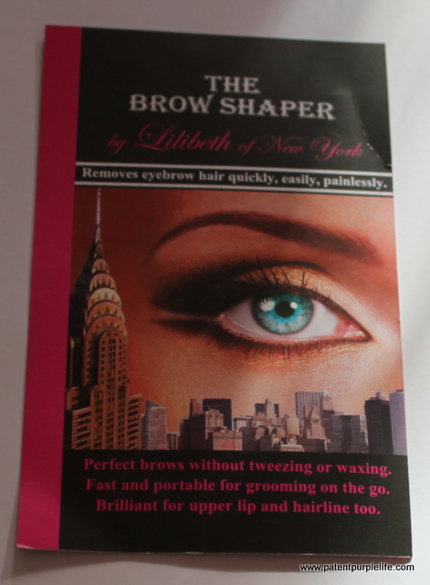 Lilibeth Brow Shaper - Patent Purple Life Beauty Blog