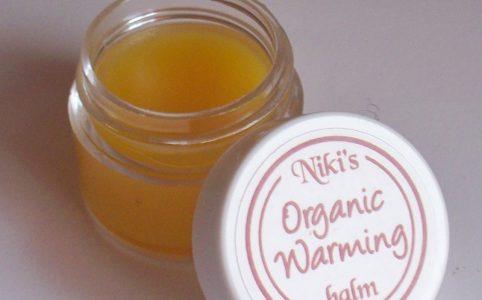 Nikis Organic Warming Balm