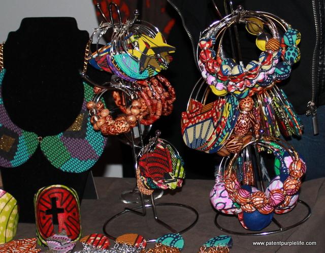 Batik Earrings
