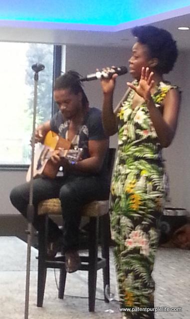 Great acoustic set from Kadija Kamara