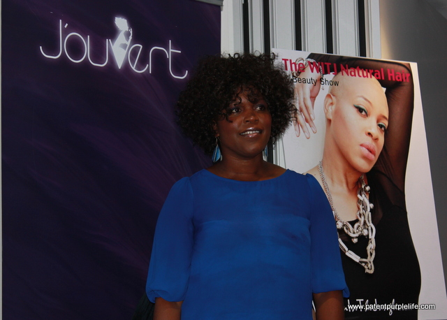 Gorgeous and lovely Meredith from Jouvert Cosmetics