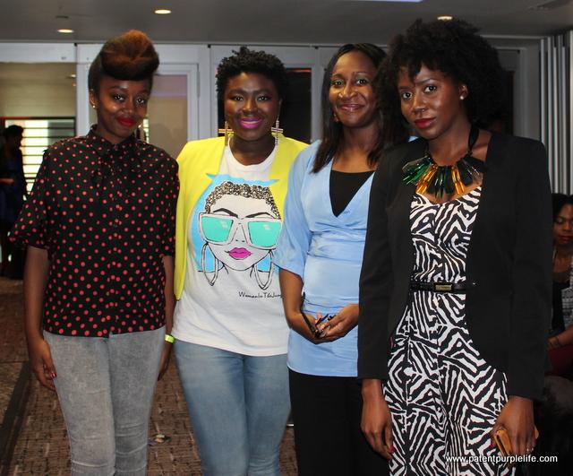 Fatou @blackbeautybag, Wunmi @ItsWITJ, Ronke @ondolady and Segun @lotionpotionsme