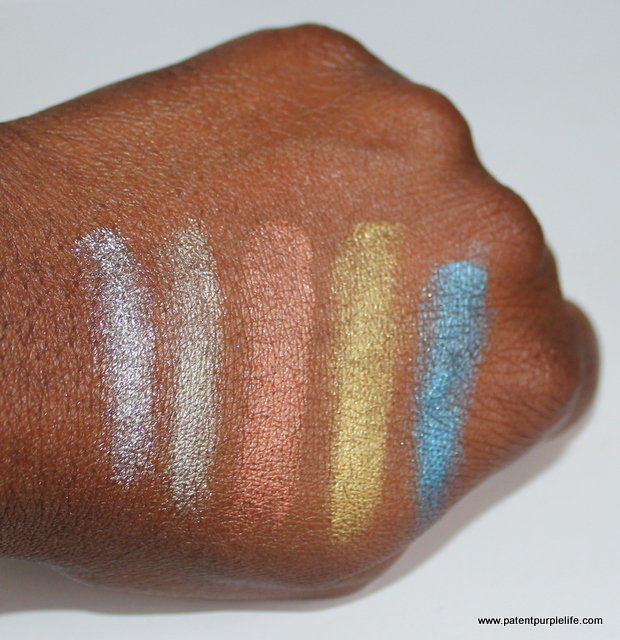 Kroylan Metallique Swatches