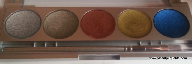 Kryolan Metallique Luxury 2 Palette