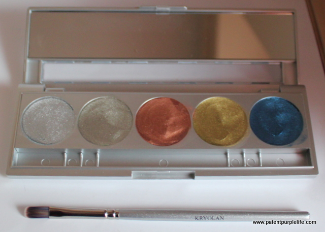 KryolanMetallique Luxury 2 Palette