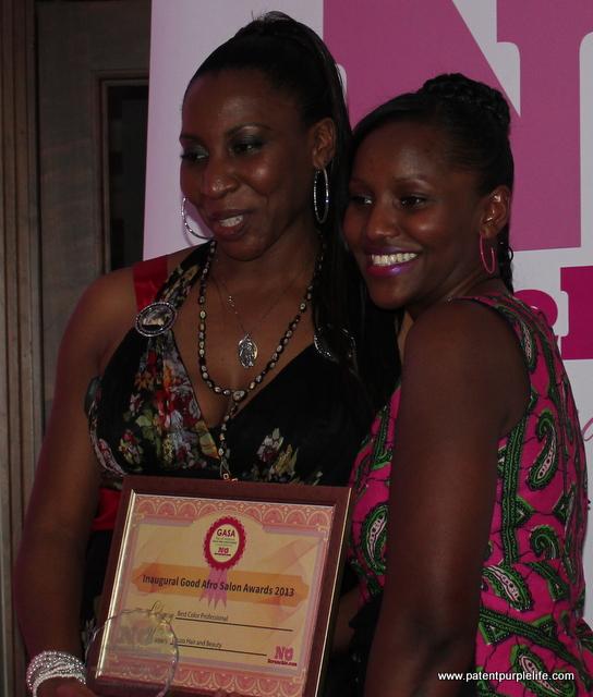 Award Winner Zu Zo with Leillah