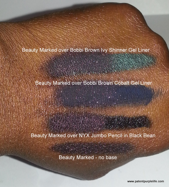 Beauty Marked Swatches