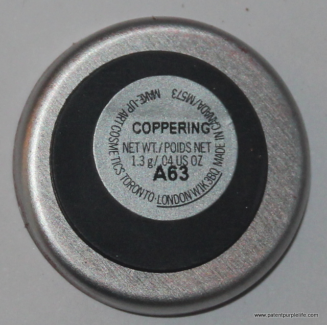 Coppering