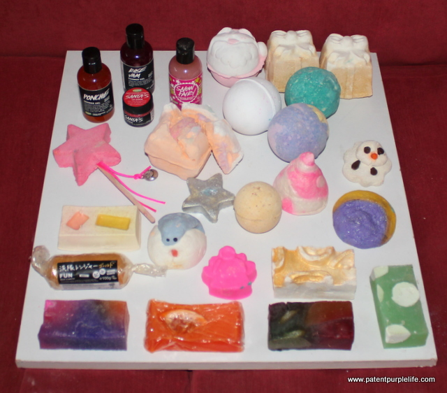 Lush Soaps and Bath Products