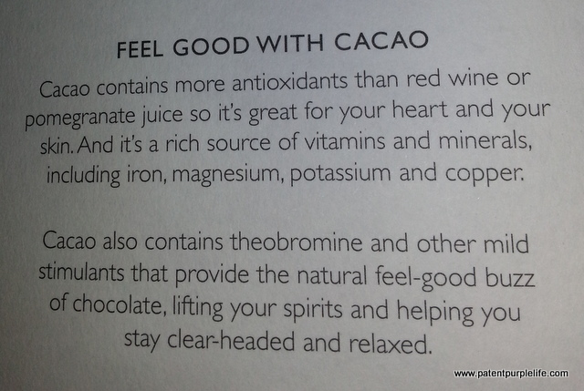 Rabot 1745 Benefits of Chocolate