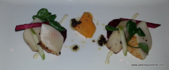 Rabot 1745 Scallop salad