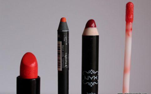 Drugstore Orange Lip colour