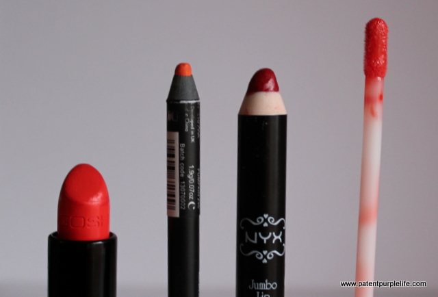 Drugstore Orange Lip colour