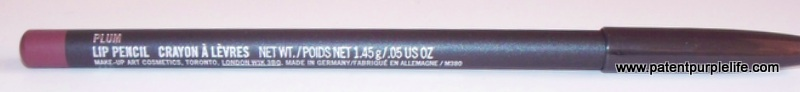 MAC Plum Lip Liner (3)