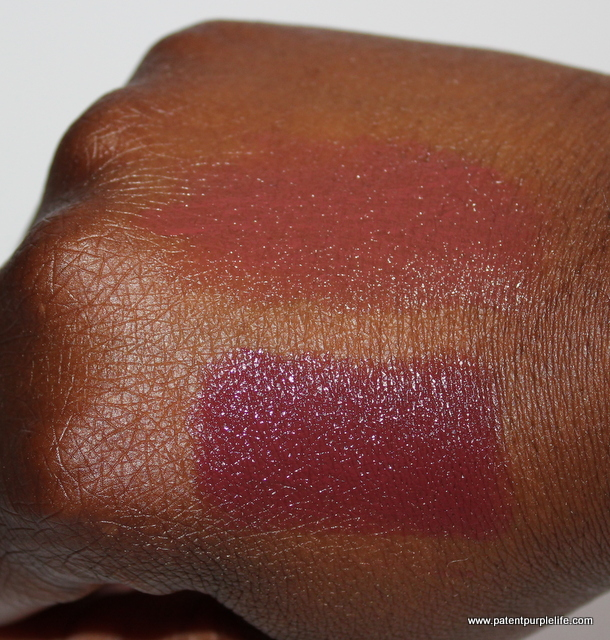 Top- No7 Wine Bottom - Bourjois Brun Cosmopolitain