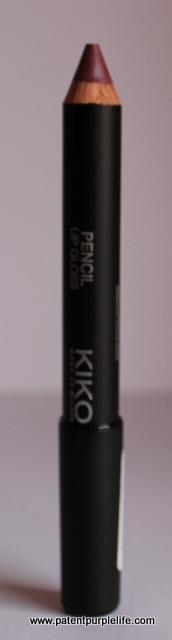 Wine Red Lip Gloss Pencil Kiko