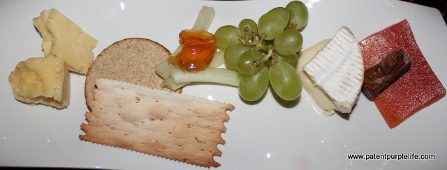 COURSE SEVEN: English Camembert and Wookey Hole Cheddar, Clementine Chutney