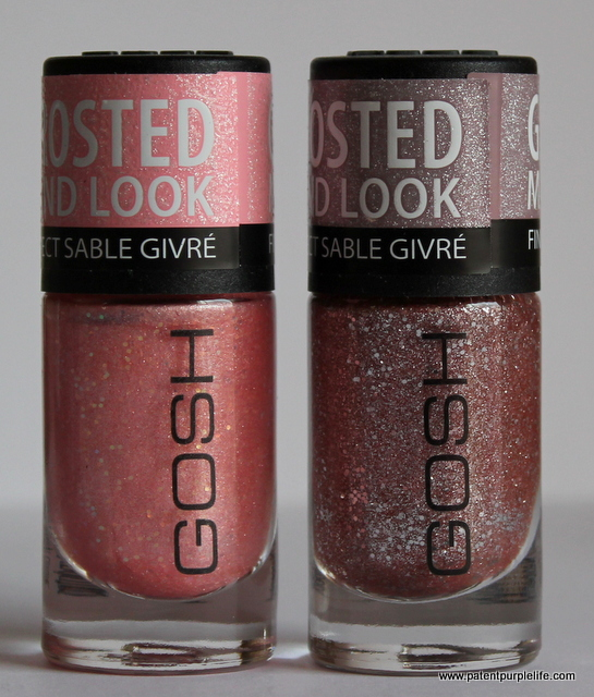 GOSH Frosted Matte Nail Lacquer