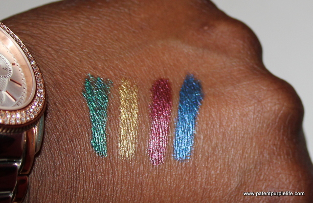 Illamasqua Art of Darkness Swatch WoC