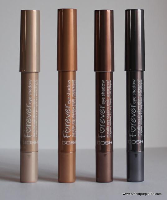 Gosh Forever Eyeshadow Sticks