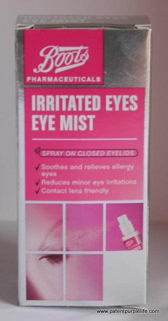 Boots Irritated Eyes Eye Mist