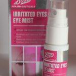 Boots Pharmaceuticals Irritated Eyes Eye Mist