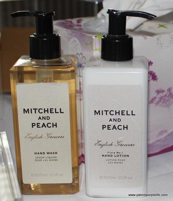 Mitchell and Peach Handwash and Handlotion