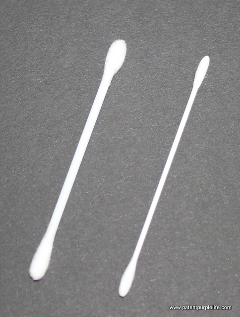 Standard and Muji Thin Cotton Buds
