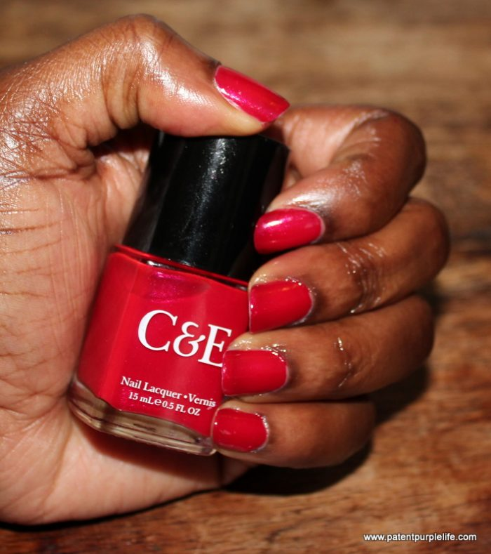 Crabtree and Evelyn Apple Nail colour WoC swatch