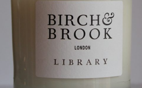 Birch and Brook Library Candle