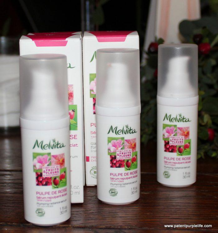 Melvita Plumping Rose Radiance Serum