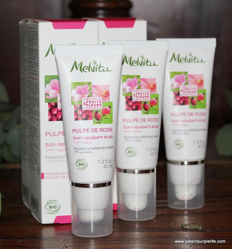 Melvita Plumping Rose Radiance Cream