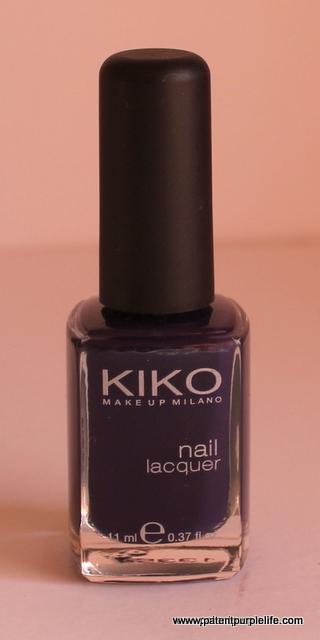 Kiko Deep Violet