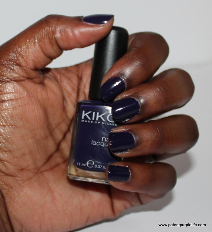 Kiko Deep Violet Swatch