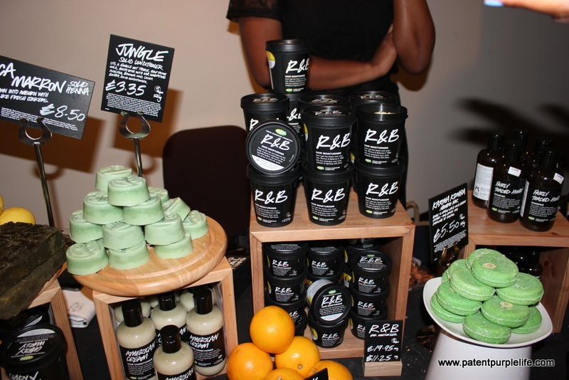 LUSH products for afro hair