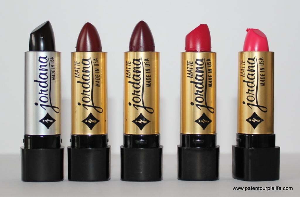 Jordana lipsticks