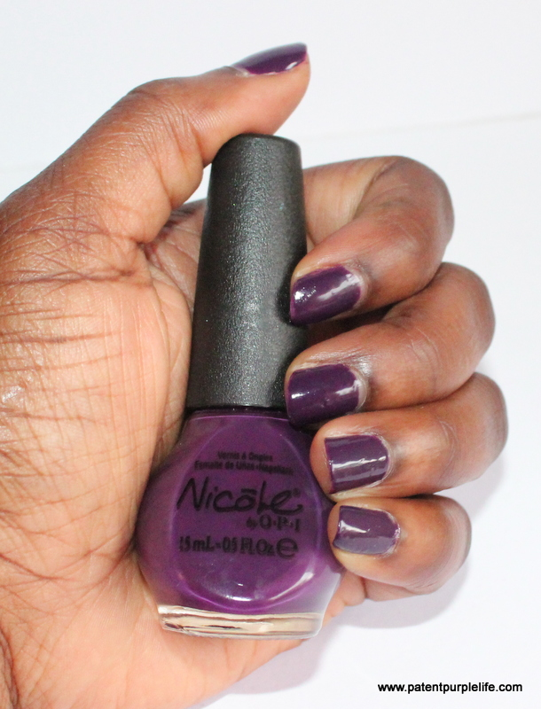 The Grape Debate Nicole by OPI