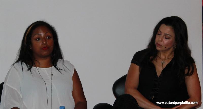 Anita Bhagwandas and Kay Montano