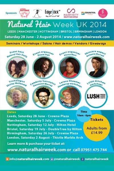 Natural Hair Week UK 2014