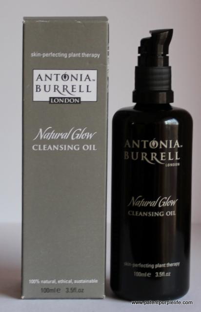 Antonia Burrell cleansing oil box
