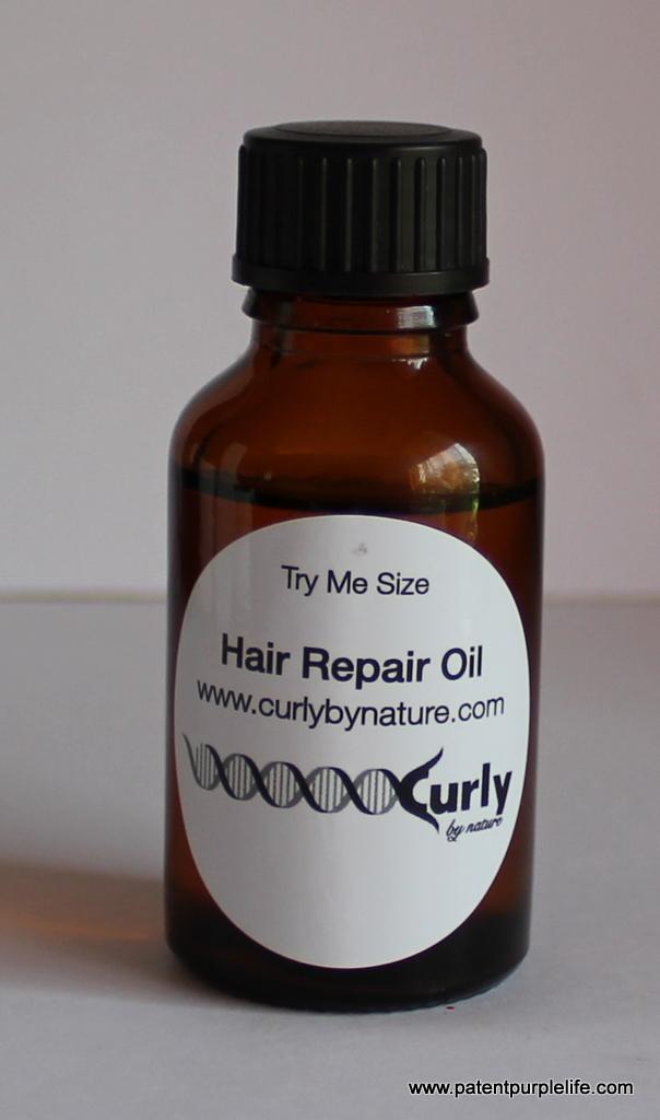 Culry By Nature Hair Repair Oil