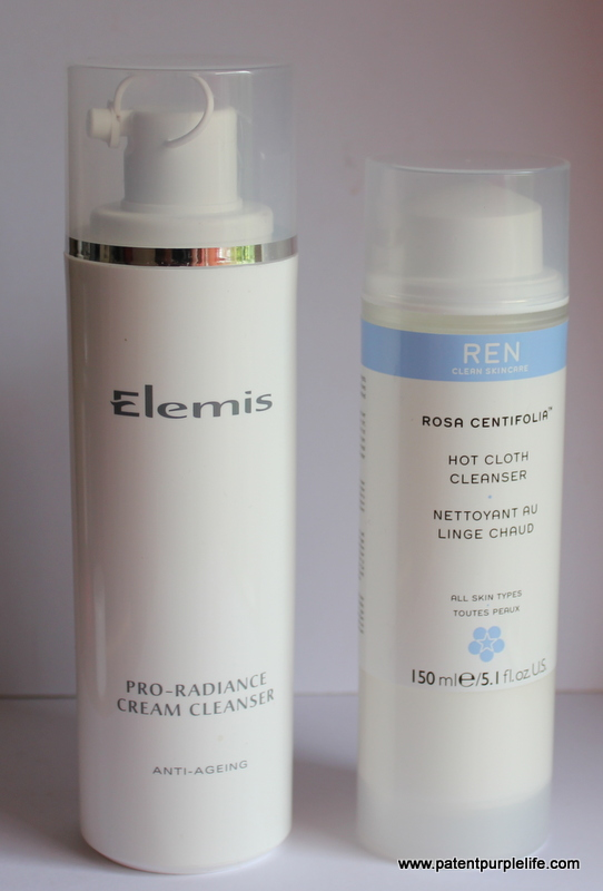 Elemis Pro Radiance Cleanser & REN Hot Cloth Cleanser